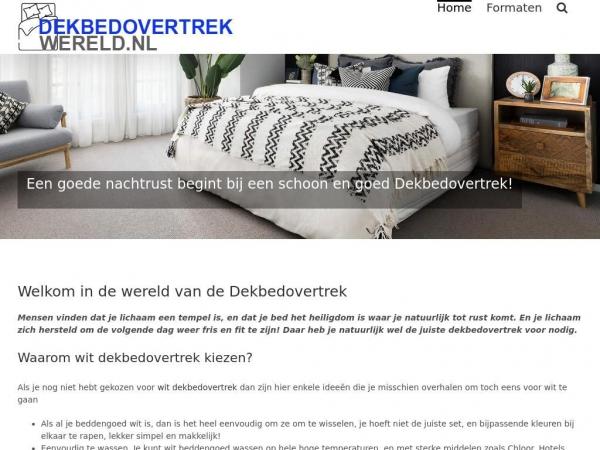 dekbedovertrek-wereld.nl