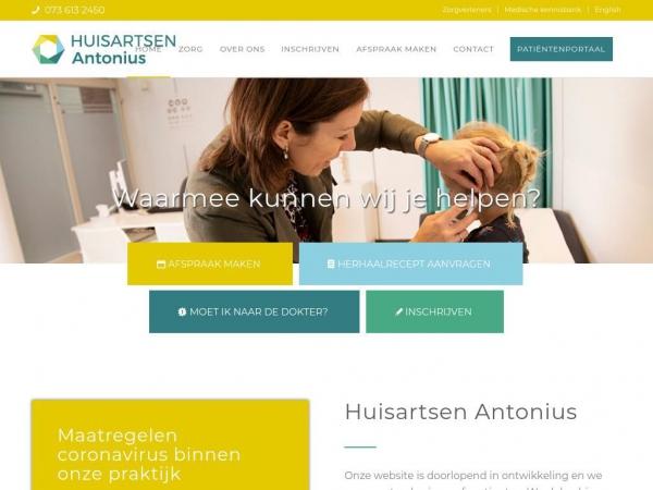 huisartsenpraktijkantonius.nl