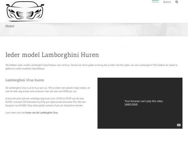lamborghini-huur.nl