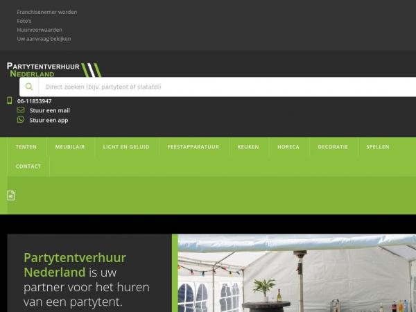 partytentverhuur-nederland.nl