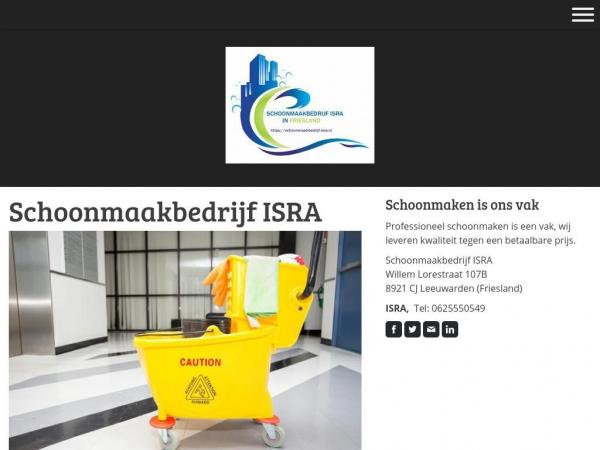 schoonmaakbedrijf-isra.nl