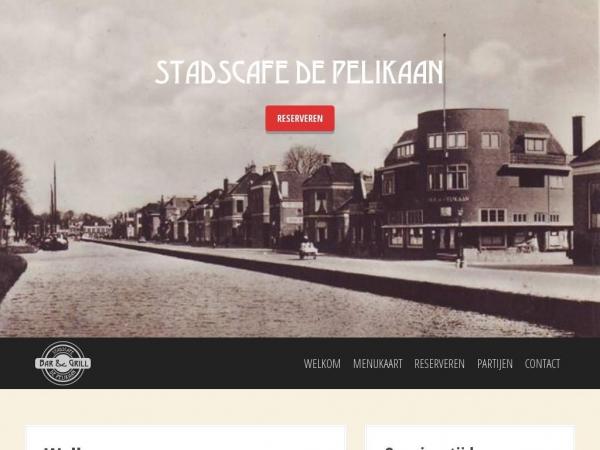 stadscafe-depelikaan.nl