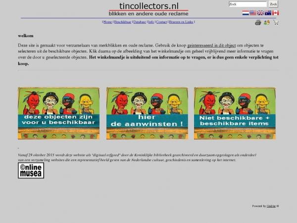tincollectors.nl