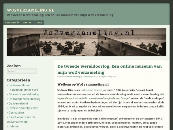 wo2verzameling.nl
